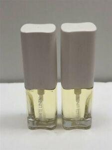 Lot of 2 White Linen by Estee Lauder 0.18 oz/5 ml Parfum Mini Spray for Women