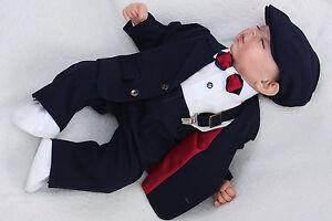 Taufanzug-Taufanzug-Junge-Baby-Anzug-Anzug-Taufe-Babyanzug