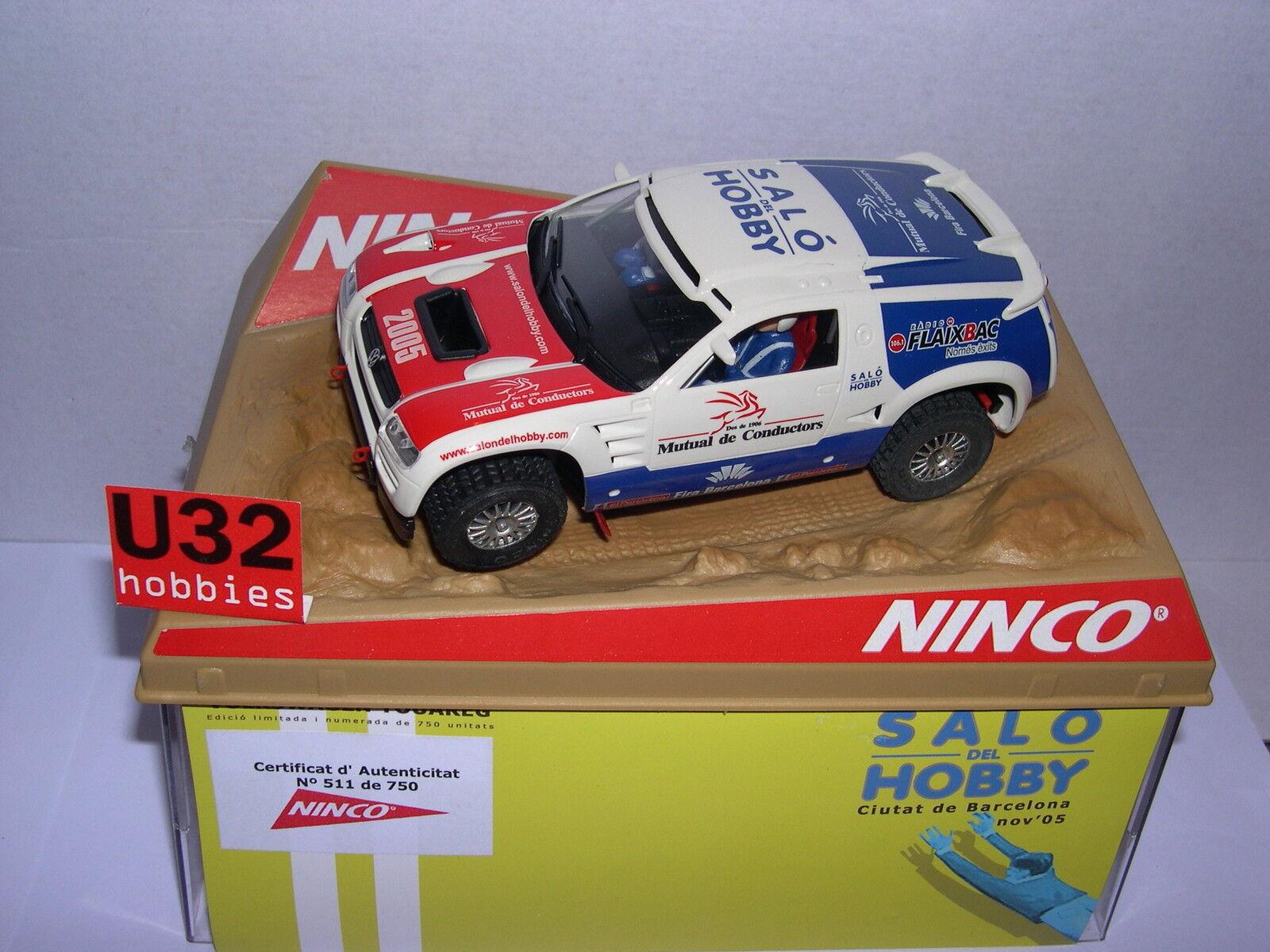 NINCO 50403 SLOT CAR VOLKSWAGEN VW TOUAREG LOUNGE HOBBY 2005 LTED.ED MB