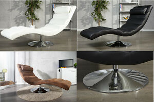 Relaxliege Recamiere LIGNANO Design Liege Liegesessel Chaiselounge FARBWAHL