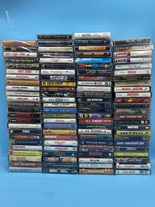 Vintage Cassette Tapes- Build Your Own Lot *Music* Various Artists/Bands & Genre