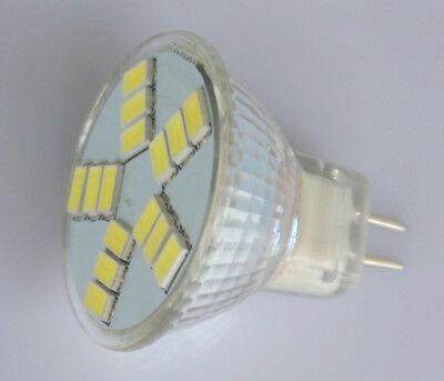 MR11 GU4 15 LED 5630 SMD Lampe Weiß Strahler Birne Leuchte Leuchtmittel 12V DC