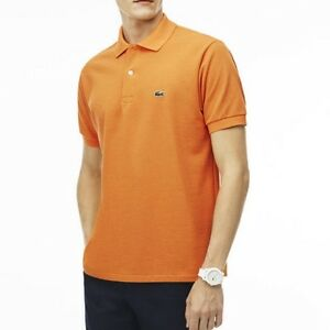 646a0feb Lacoste Men's Classic Piqué L.12.12 Polo Shirt Mesh $89.50 Sunflower ...