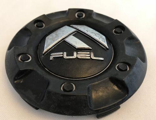 QTY 1 1001-58 FUEL BLACK Wheel Center Cap pn