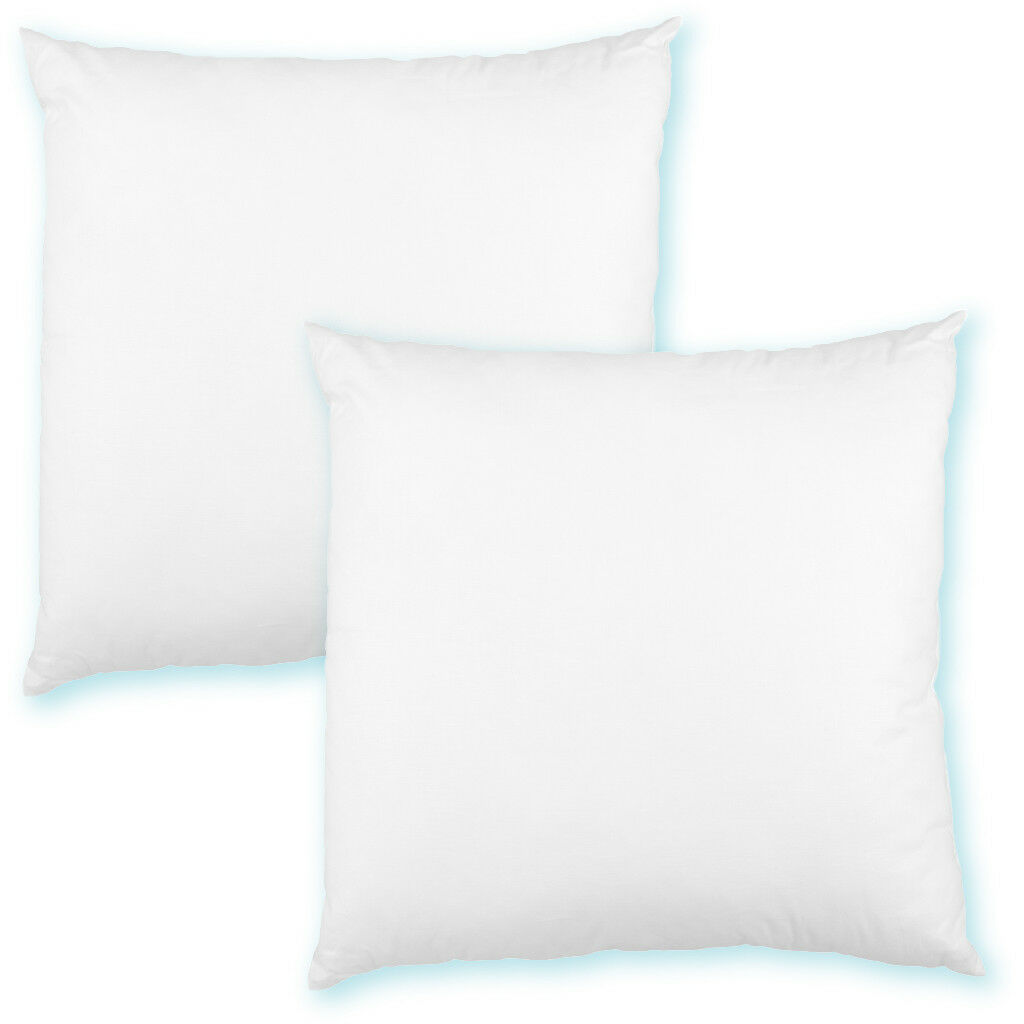 Kissenfüllung 30x30 Polyester Premium 2er Pack Füllkissen Sofakissen Bettkissen