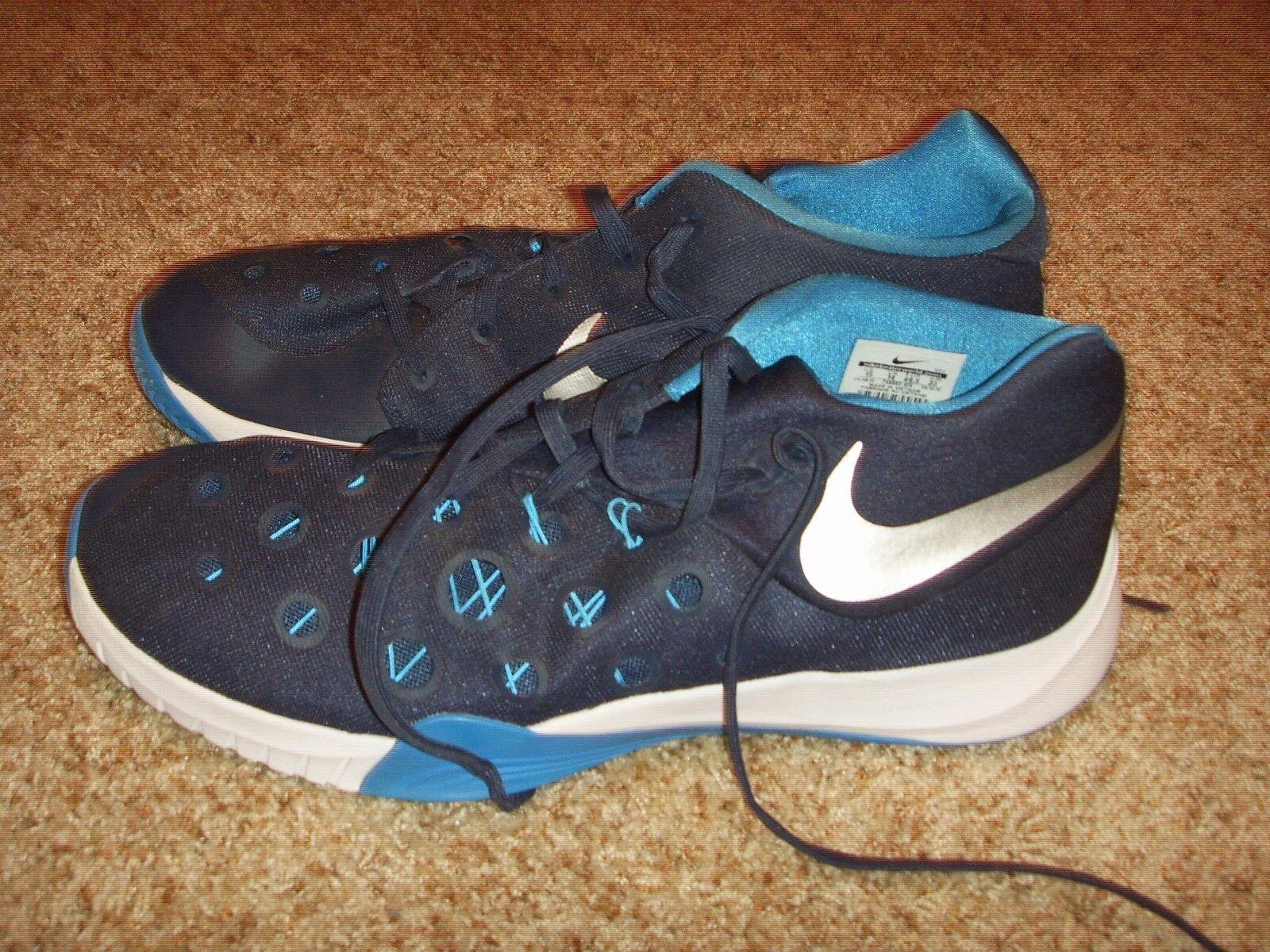 Nike Zoom hyperquickness 749883 casual 405 Midnight Navy Hombre cómodo casual 749883 salvaje b51864
