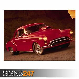 SPORT CAR AUTOMOBILE PHOTOGRAPH CLASSIC HOT ROD COOL POSTER   # 29 A3//A4 SIZE