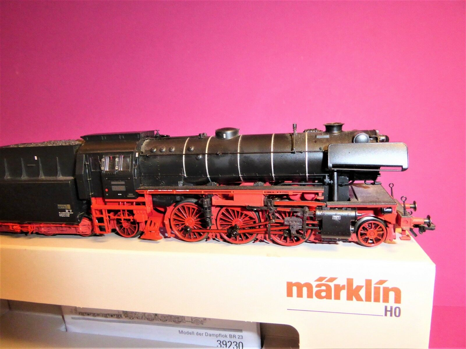 Märklin h0 39230 mfx-digital Sound br23 001 DB con humo