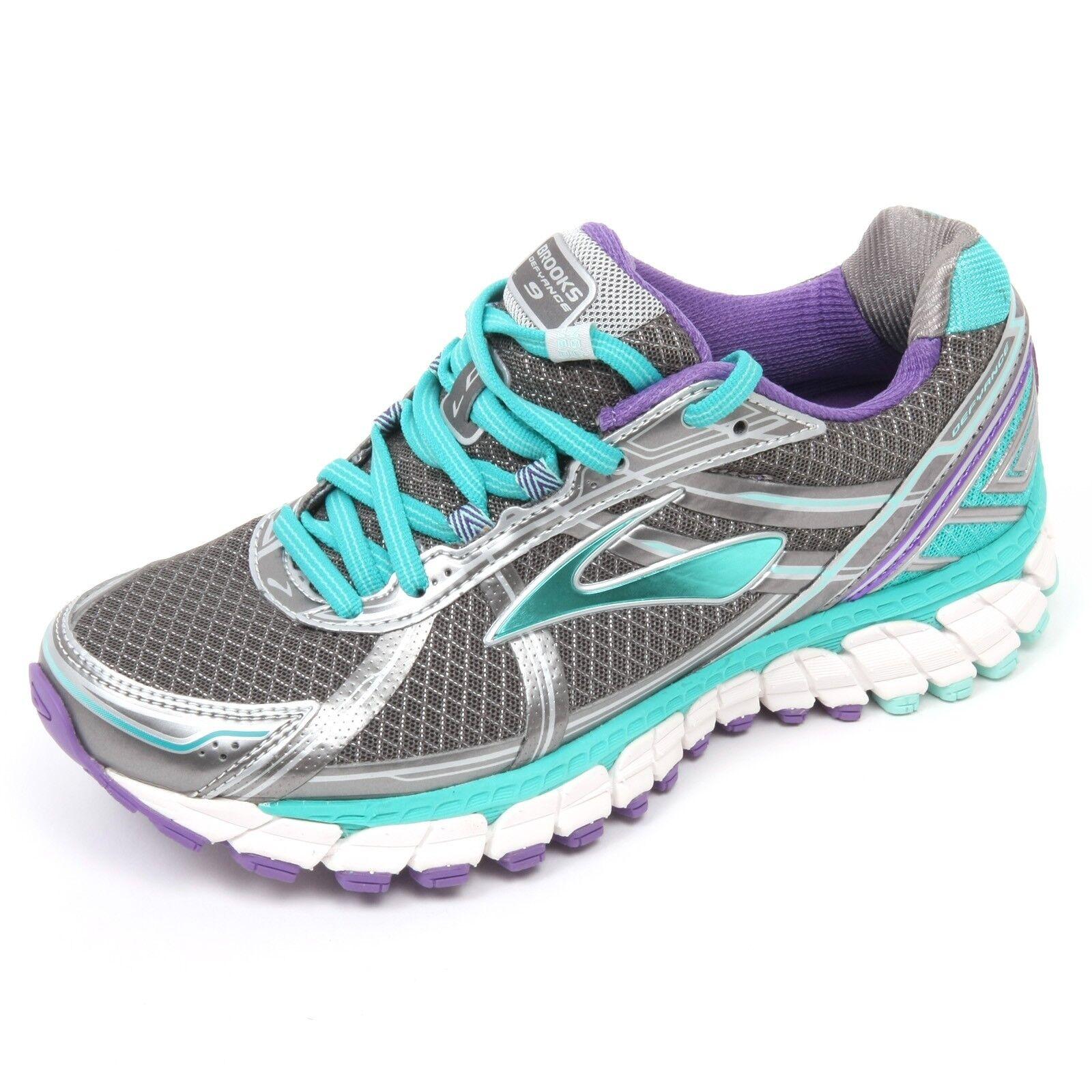 C5600 sneaker donna donna donna BROOKS DEFYANCE 9 scarpa grigio shoe woman 3505f7