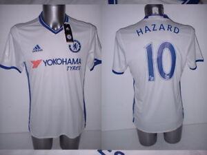 purchase cheap 4b81c e4649 Details about Chelsea EDEN HAZARD Adidas M BNWT Jersey Shirt Soccer New  Belgium Maglia Top