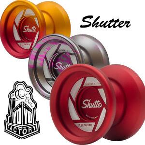 YoYoFactory Shutter Yo-Yo - FREE Extra Strings and Sticker - Fast Shipping!