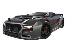 1:10 Scale Thunder Drift Road Racing RC Remote Control Car 4WD 2.4GHz Gun Metal