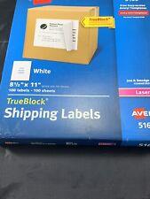 Avery Paper Laser Label11 H8 12 Wpk100 7278205165 White