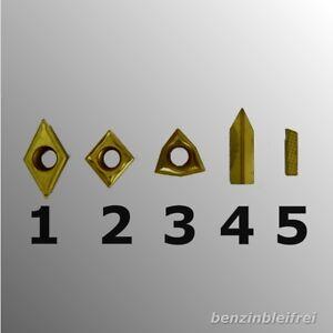 Wendeplatte-Wendeschneidplatte-HM-Drehmeissel-Drehstahl-8x8mm-10x10mm-AUSWAHL