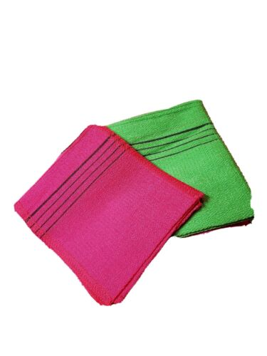 Korean Exfoliating Washcloth Original Italy Towel ColorRandom x 8pcs