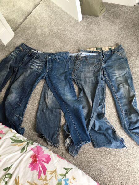2019 Nuovo Stile 4 Paia Di Jeans