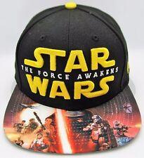 STAR WARS The Force Awakens Viza Print NEW ERA 9FIFTY Snapback Cap Hat New