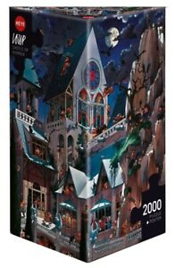 (HY26127) - Heye Puzzles - Triangular , 20 00 Pc - Castle of Horror, Loup