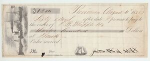 62784-1858-GRAPHIC-PADDLE-STEAMER-PROMISSORY-NOTE-PROVIDENCE-R-I