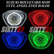 Suzuki Boulevard M109 2006-2016 2017 CCFL Demon Halo Angel Eye ring lights ojos