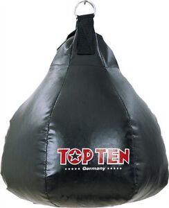 Maisbirne-schwarz-gefuellt-TOP-TEN-Ca-19Kg-Boxen-Kickboxen-Thaiboxen-MMA