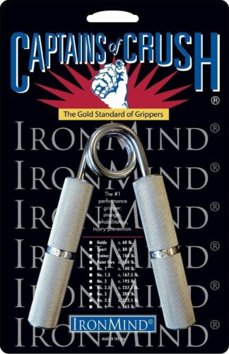 80 lb Sport Gripper IronMind Captains of Crush CoC Hand Grippers BEST VALUE