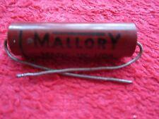 VINTAGE NOS GEM-611 MALLORY .01 MFD, 600VDC CAPACITOR