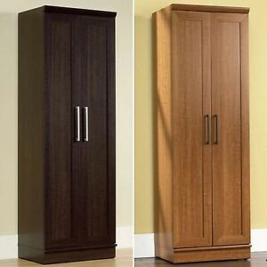 Image is loading Tall-Cabinet-Storage-Kitchen-Pantry-Food -Organizer-Cupboard- & Tall Cabinet Storage Kitchen Pantry Food Organizer Cupboard 4 ...