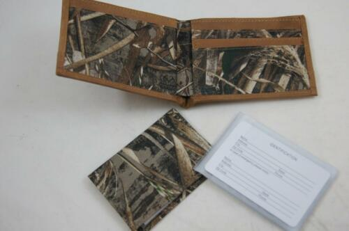 ZEP-PRO Ole Miss Rebels Realtree MAX 5 Camo Bifold Wallet Tin Gift Box