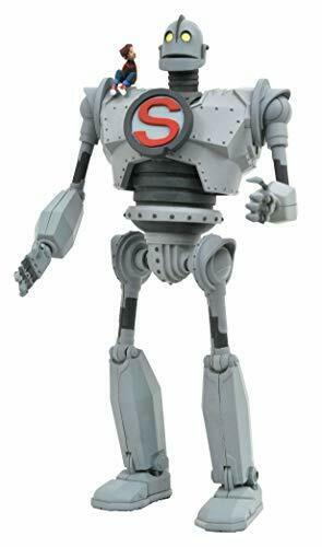 "DIAMOND SELECT TOYS IRON GIANT 9/"" Action Figure amovible Hogarth Hughes /& /""S/"""