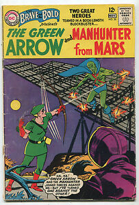 Brave-And-The-Bold-50-GD-VG-Green-Arrow-And-Manhunter-From-Mars-DC-Comics-SA