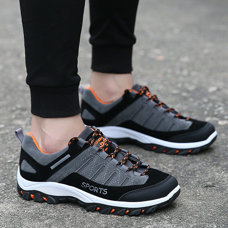 Mens Sneakers Running Sports Athletic Casual shoes Waterproof Hiking Outdoor