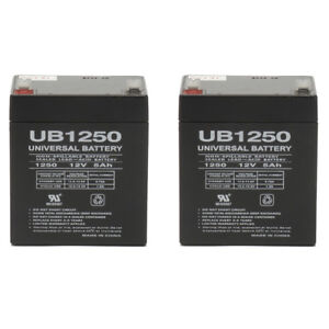 6 Pack New AB1250 12V 5AH SLA Replacement Battery Compaq R6000 UPS