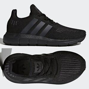 boys black adidas trainers