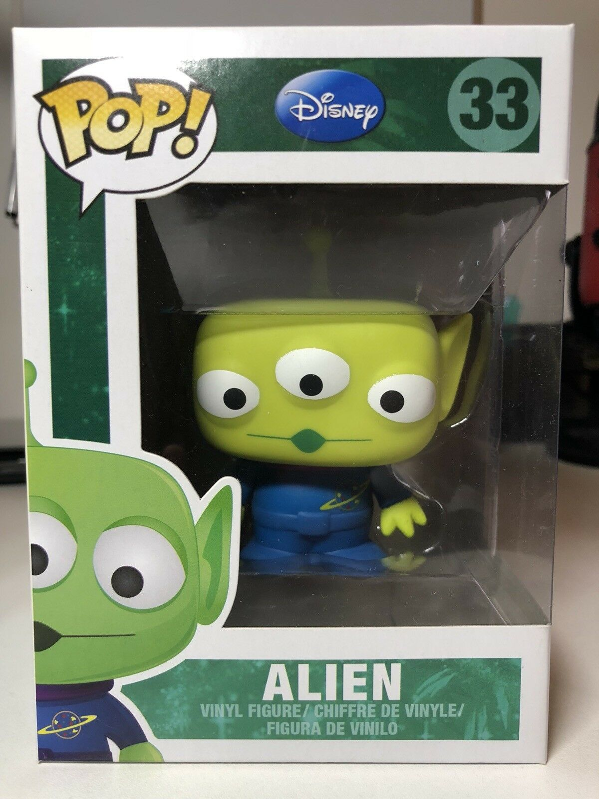 Funko Pop-Toy Story-Alien 33 - Extremadamente Raro en Caja Leve Daño