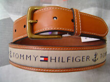 b2ce1a0b08 item 2 TOMMY HILFIGER MEN S CASUAL BELT TAN WITH KHAKI COTTON LOGO INLAY -TOMMY  HILFIGER MEN S CASUAL BELT TAN WITH KHAKI COTTON LOGO INLAY