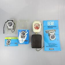2x Belichtungsmesser Weimarlux nova Bewi Electro light meter analog geprüft