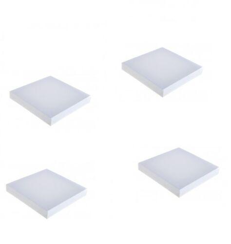 """4 X Mini Artista En Blanco estirado Square Box Lona 5 /""""x 5/"""" 12.5 X 12,5 Cm dcaa450"""