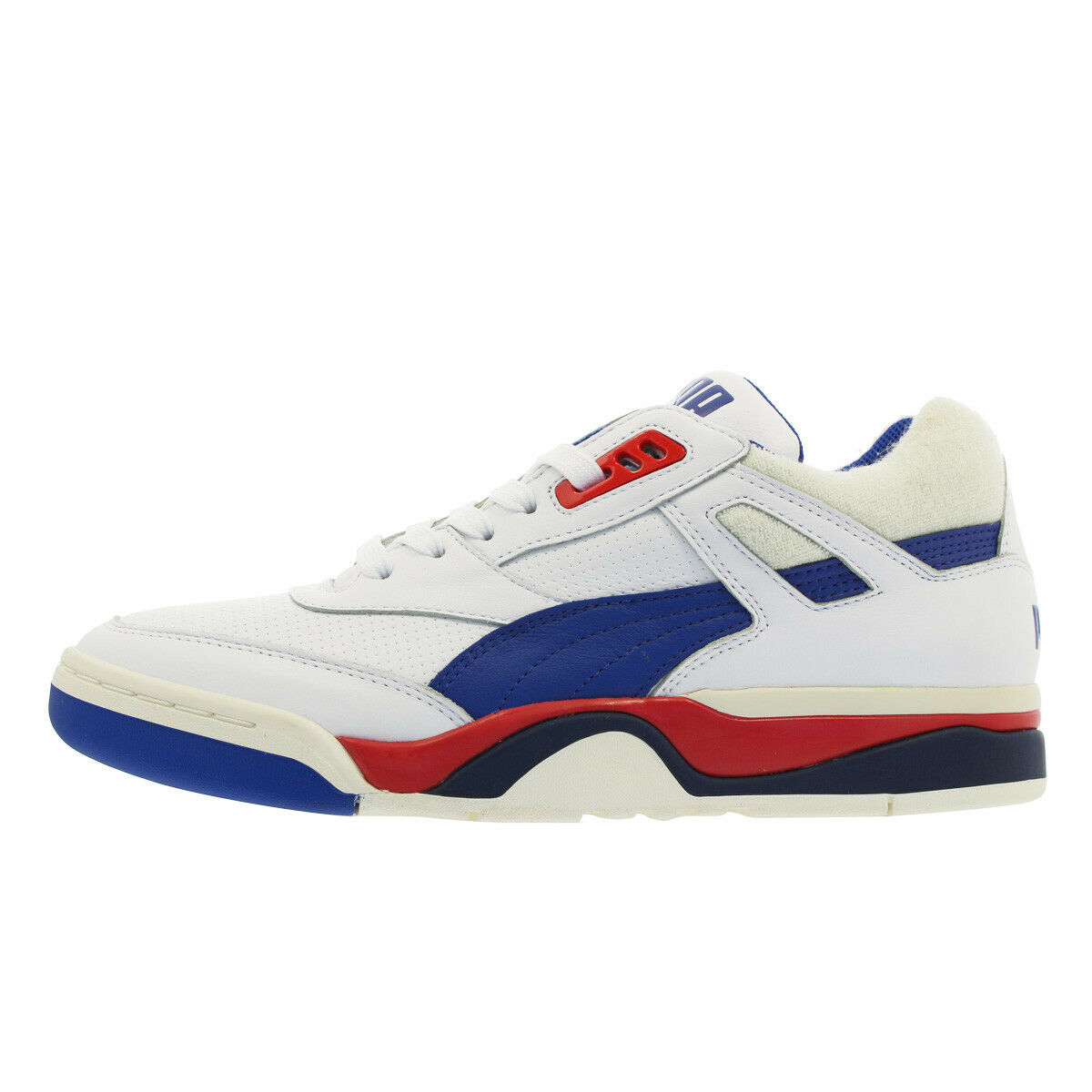Puma Men's PALACE GUARD OG shoes Puma White bluee Red 369587-01 d
