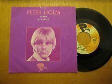 "Peter Holm  – Monia / My Prayer  - French 7"" P/S"