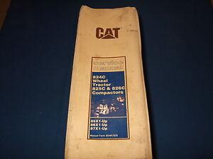 Cat-Caterpillar-824C-825C-826C-Service-Laden-Reparatur-Manuell-Compactor-85X-86X