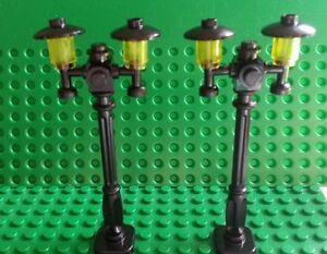 LEGO NEW RARE LIGHT GREY LAMP POST STREET LIGHT TOWN CITY PIECE