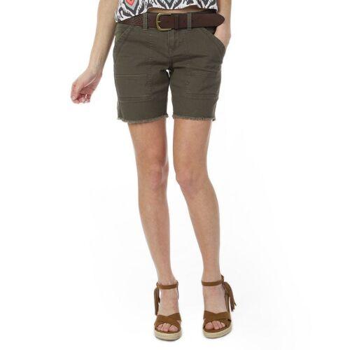 NWT $36 Juniors UnionBay Ambrose Belted Bermuda Shorts Size 0