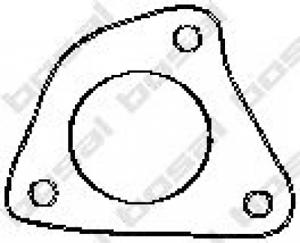 Abgasrohr für Abgasanlage BOSAL 256-905 Dichtung