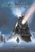 Polar Express Movie Poster 2 Sided Original Advance 27x40 Tom Hanks
