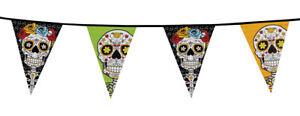 Guirlande-de-fanions-halloween-decoration-day-of-the-dead-jour-morts-squelette