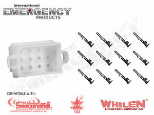 12-Pin-Connector-Plug-for-Star-Signal-Vehicle-Products-SVP-1889-Siren-SS670-LCS