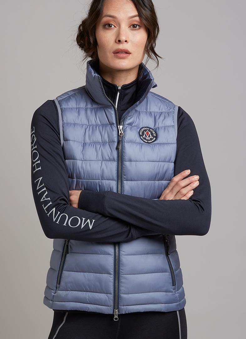 SALE WINTER 2018 Mountain Horse Ambassador Gilet - Grey - RRP .00