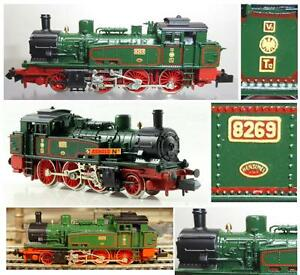 ARNOLD-2286-VINTAGE-locomotive-dans-VAPEUR-vapeur-Reservoir-SITE-class-T12-KPEV