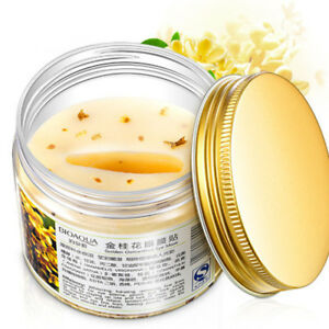 80Pcs-Bottle-Quality-Mask-Collagen-Gel-Whey-Protein-Gold-Osmanthus-Eye-Face-Care